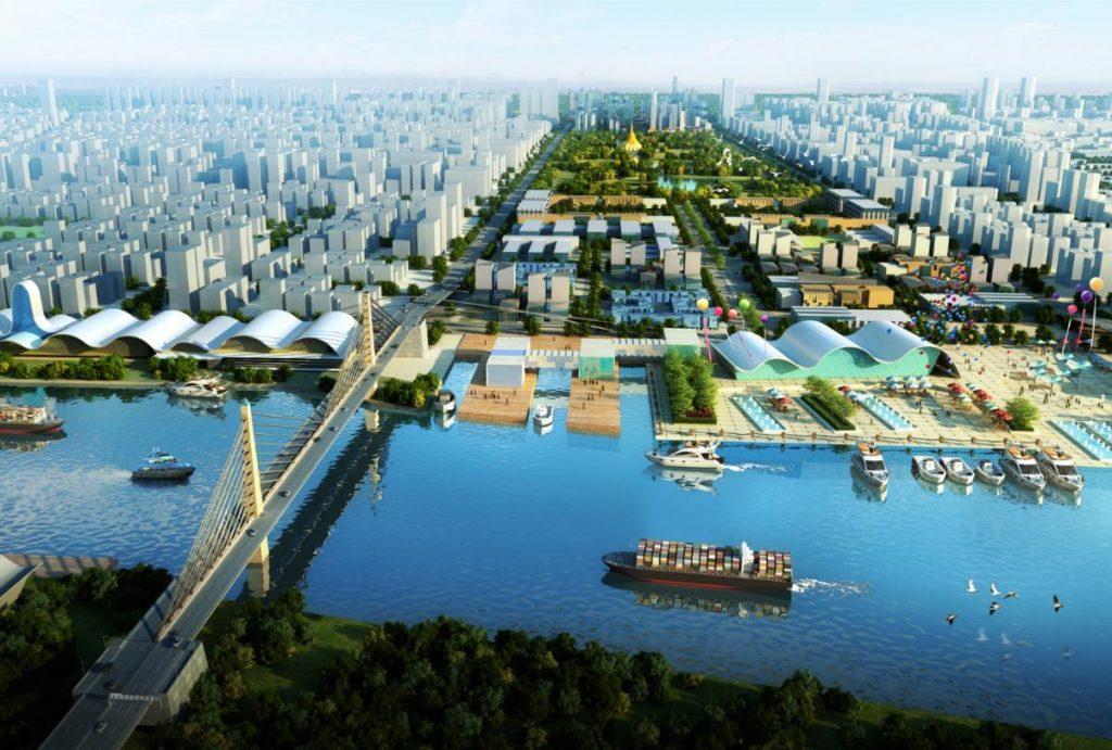 Yangon New City – a+p group